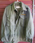 Field Coat, Olive Dated 1957 Military M-51 Authentic Issued Uniform Korea/Vietna