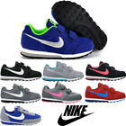 New Kids Boys Girls Nike MD Runner Sports Velcro Trainers Shoes Uk Sizes 10-2