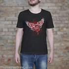 Propaganda Wounded Shirt. Heart Wing T Shirt Men's Funny Shirt