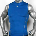 Mens Compression sports tank top tights sleeveless shirts base layer body armour