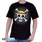 One Piece - T-Shirt Skull noir - En licence officielle Abystyle