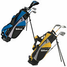 WILSON JUNIOR PRO STAFF PACKAGE SET - NEW GOLF KIDS CHILDRENS BOYS GIRLS CLUBS