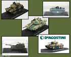 DeAgostini Tanks Die cast & Plastic Parts Static Tanks Ex Mag in Display cases