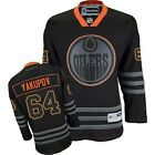 Neil YAKUPOV OILERS Reebok Premier Officially Licensed NHL Black Ice Jersey