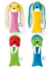 NEW! BRIO 30456 MY VERY FIRST RABBIT OR WALRUS RATTLE BABY SOFT TOY- 0m+