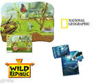 Wild Republic National Geographic Large Insects & Sea monsters puzzles 50 Pieces