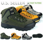 Mens Hiking Boots Trail Camping Outdoor Shoes Sneakers Ankle High Top Walking