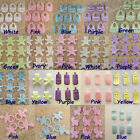 300pcs Baby Shower Applique Bib Pacifier Bear Card Making Scrapbooking Wedding