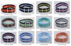20mm Nylon Watch Band Strap Watch Stainless Steel Buckle 12color  available