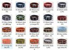 18mm Nylon Wrist Watch Band Strap Watch Stainless Steel Buckle 20color available