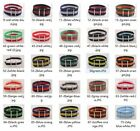 22mm Nylon Wrist Watch Band Strap Watch Stainless Steel Buckle 25color available