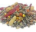 PARROT FOOD - (500g - 15kg) - Traditional Caged Bird Seed Chillies Pet Feed Mix