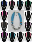 12 colour - Fashion Women Lady short Jewelry Necklace  Scarf