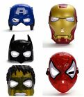 MARVEL SUPER-HERO, BATMAN, POWER RANGER MINION STORMTROOPER LED MASK PVC