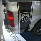 1500 2500 Truck Bed Side Vinyl Stripe Ram Head Logo Decals Stickers  BDS-007 $29.99 USD
