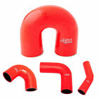 Auto Silicone Hoses Red Rubber Elbow