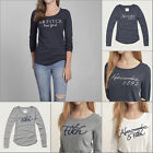 NWT Abercrombie & Fitch by Hollister Womens T-Shirt Tee Long Sleeve Top XS S M L