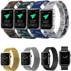 Loop Milanese Magnetic Stainless Steel Metal Watch Band Strap for Apple Watch