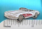 1960 60 Chevrolet CORVETTE Roadster - hat pin , tie tac , lapel pin GIFT BOXED