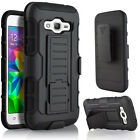 For Many Samsung Cover 2in1 Hard Soft Hybrid Rugged Kickstand Back Case + 2 Gift