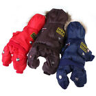 Winter Pet Dog Cat Hoodie Down Jacket Puppy Warm Coat Jumpsuit Pet Clothes XS-XL