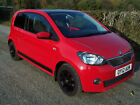 2012 12 Plate Skoda Citigo 1.0 MPI ( 60ps ) Green Tech SE In Red £0 Road tax