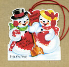 Hang Tags THERES SNOW ONE BUT YOU SNOWMAN VALENTINE TAGS 9 Gift Tags