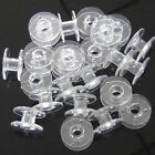 10-50 Sewing Machine Bobbins Spool Plastic For Brother Janome Singer Craft DIY