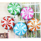 2PCS Candy Balloons Lollipops Swirl Peppermint Wedding Foil Party Decoration UK7
