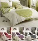 Manhattan Duvet Cover with Pillowcase Quilt Cover Bed Set Available in all Size