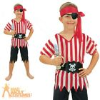 Child Budget Pirate Boys Costume Caribbean Book Week Day Fancy Dress Outfit New