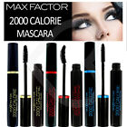 Max Factor 2000 Calorie Mascara Black New Packaging Dramatic Volume Curl or Wate
