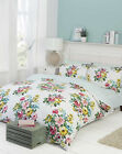 Romanie Traditional Floral Duvet Quilt Cover and Pillowcase Set