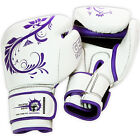 Lily - Genuine Leather Gel Boxing MMA Bag Gloves by Eclipse Gear