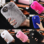 Warm Fluffy Villi Fur Plush Wool Bling Case Cover Skin For iPhone 6/6S/6 Plus