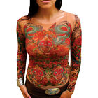 Wild Rose Ladies Tattoo Shirt, Sugar Skulls Bright