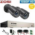ZOSI CCTV 1080N DVR 3000TVL 8CH Outdoor Home Surveillance Security Camera System