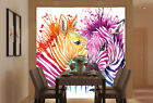3D Pomo zebra 1 WallPaper Murals Wall Print Decal Wall Deco AJ WALLPAPER