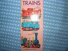 RICHARD SCARRY Golden Press From Go-Go Book Set 1967 No Writing TRAINS 10282