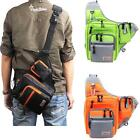 Waterproof Fishing Tackle Bag Pack Shoulder Waist Box Lure Storage Bag New X4G9