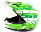 HJC CL-X5N MATRIX MC4 XXL MOTOCROSS HELMET 0860150408 GREEN/WHITE