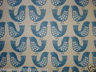 SMD SCANDI BIRDS CAPRI MATT FINISH NEW 100% COTTON PVC OILCLOTH VINYL TABLECLOTH