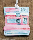 Hang Tags RETRO PINK VINTAGE CAMERA WEDDING PHOTO BOOTH WISH TAG #111 Gift Tags