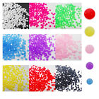 NO04 300 Pcs, 3000 Pcs Craft Beads Nail Art Dry Tool Noctilucent Resin Stone-5mm