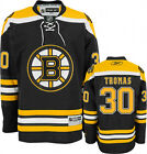 TIM THOMAS #30 Boston Bruins Reebok Premier Jersey BOYS S/M