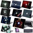 "For Macbook Pro Air 11""13""15""Retina 12""Black Painting Hard Case+Keypad Cover+SP"