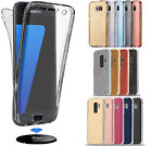 Shockproof 360° Clear Gel Case Cover For Samsung Galaxy S8 S9 Note 9 A6 A8 J3 J6