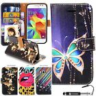 Madcase Print Diary Book Case Leather Wallet Cover for Samsung Galaxy Core Prime