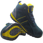 NEW MENS LIGHTWEIGHT STEEL TOE CAP SAFETY ANKLE TRAINERS SHOES LADIES WORK BOOTS