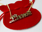 Gold Plated Name Necklace 'L' Personalised Gifts - LARA | LEONIE | LIBBY | LYDIA